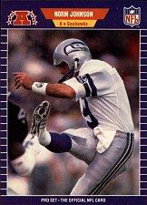 Buy 1989 Pro Set Seattle Seahawks Football Card #394 Norm Johnson