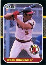 Buy Brian Downing 1987 Donruss Baseball Card California Angels