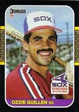 Buy Ozzie Guillen 1987 Donruss Baseball Card Chicago White Sox