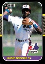 Buy Hubie Brooks 1987 Donruss Baseball Card Montreal Expos