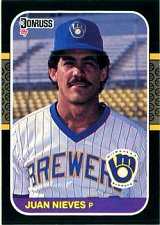 Buy Juan Nieves 1987 Donruss Baseball Card Milwaukee Brewers