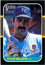 Buy Steve Balboni 1987 Donruss Baseball Card Kansas City Royals