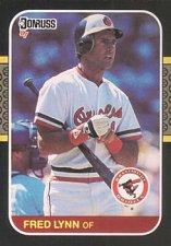 Buy Fred Lynn 1987 Donruss Baseball Card Baltimore Orioles