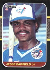 Buy Jesse Barfield 1987 Donruss Baseball Card Toronto Blue Jays
