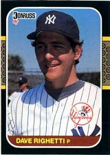 Buy Dave Righetti 1987 Donruss Baseball Card New York Yankees