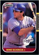 Buy Mike Scioscia 1987 Donruss Baseball Card Los Angeles Dodgers