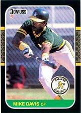 Buy Mike Davis 1987 Donruss Baseball Card Oakland Athletics