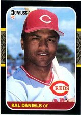 Buy Kal Daniels 1987 Donruss Baseball Card Cincinnati Reds