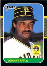 Buy Johnny Ray 1987 Donruss Baseball Card Pittsburgh Pirates