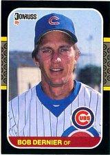 Buy Bob Dernier 1987 Donruss Baseball Card Chicago Cubs
