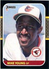 Buy Mike Young 1987 Donruss Baseball Card Baltimore Orioles