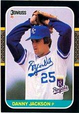 Buy Danny Jackson 1987 Donruss Baseball Card Kansas City Royals