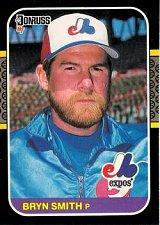 Buy Bryn Smith 1987 Donruss Baseball Card Montreal Expos