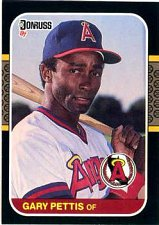 Buy Gary Pettis 1987 Donruss Baseball Card California Angels