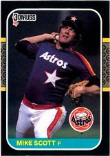 Buy Mike Scott 1987 Donruss Baseball Card Houston Astros