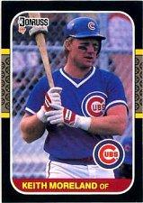 Buy Keith Mooreland 1987 Donruss Baseball Card Chicago Cubs