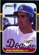 Buy Mike Marshall 1987 Donruss Baseball Card Los Angeles Dodgers