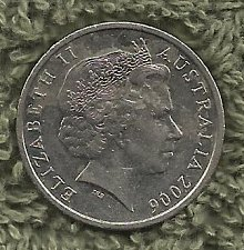 Buy Australia 10 Cents 2006 Coin - Lyrebird - Queen Elizabeth II