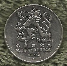 "Buy Czech Republic 5 Kc ""Korun"" 1993 Coin"