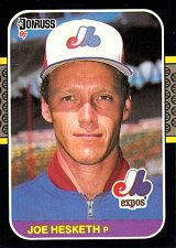 Buy Joe Hesketh 1987 Donruss Baseball Card Montreal Expos