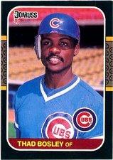 Buy Thad Bosley 1987 Donruss Baseball Card Chicago Cubs