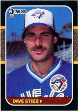 Buy Dave Stieb 1987 Donruss Baseball Card Toronto Blue Jays