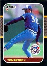 Buy Tom Henke 1987 Donruss Baseball Card Toronto Blue Jays