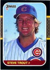 Buy Steve Trout 1987 Donruss Baseball Card Chicago Cubs