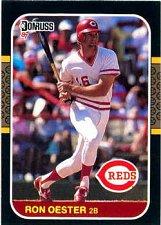 Buy Ron Oester 1987 Donruss Baseball Card Cincinnati Reds