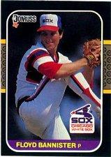 Buy Floyd Bannister 1987 Donruss Baseball Card Chicago White Sox