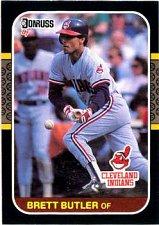 Buy Brett Butler 1987 Donruss Baseball Card Chicago Cleveland Indians