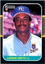Buy Lonnie Smith 1987 Donruss Baseball Card Kansas City Royals