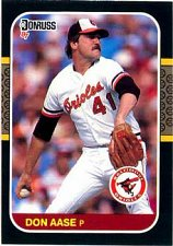 Buy Don Aase 1987 Donruss Baseball Card Baltimore Orioles