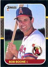 Buy Bob Boone 1987 Donruss Baseball Card California Angels
