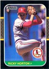 Buy Ricky Horton 1987 Donruss Baseball Card St. Louis Cardinals