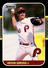 Buy Kevin Gross 1987 Donruss Baseball Card Philadelphia Phillies