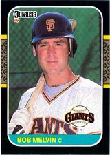 Buy Bob Melvin 1987 Donruss Baseball Card San Francisco Giants