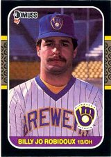 Buy Billy Jo Robidoux 1987 Donruss Baseball Card Milwaukee Brewers
