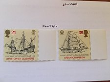 Buy Great Britain Europa 1992 mnh Columbus
