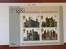 Buy Great Britain Stamp Exposition SS mnh 1980