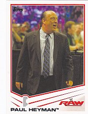 Buy Paul Heyman - WWE 2013 Topps Wrestling Trading Card #28