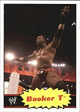 Buy Booker T - WWE 2012 Topps Heritage Wrestling Trading Card #45