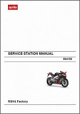 Buy 2009-2010-2011-2012-2013-2014 Aprilia RSV4 / RSV 4 Factory Service Manual on CD