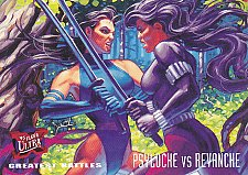 Buy Psylocke vs. Revanche #136 - Marvel Comic 1994 Trading Card