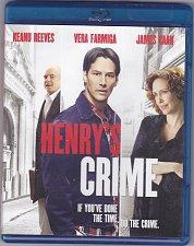 Buy Henry's Crime Blu-ray Disc 2011 - Like New