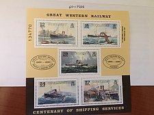 Buy Guernsey Great western railway s/s mnh 1989