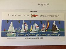 Buy Guernsey Yacht club s/s mnh 1991
