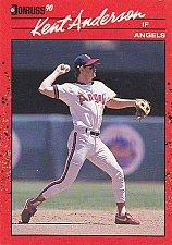 Buy Kent Anderson #490 - Angels 1990 Donruss Baseball Trading Card