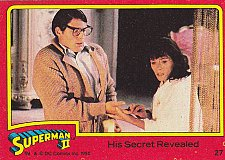 Buy His Secret Revealed #27 - 1980 Superman II Comic Trading Card