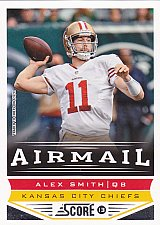 Buy Alex Smith #236 - Chiefs 2013 Score Football Trading Card